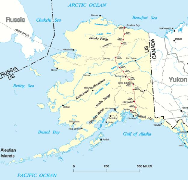 Some Really Rather Interesting Trivia about Alaska
