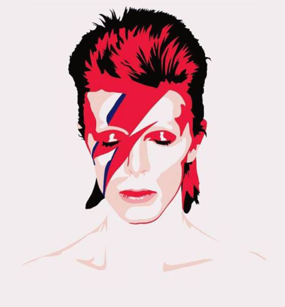 World Artists Create Awesome Memorial Works in David Bowie's Honor