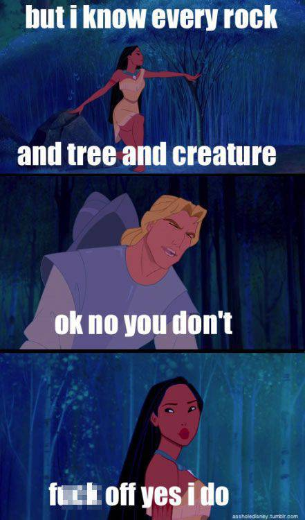 Disney Movies Take on a Whole New Meaning with Adult Rated Captions