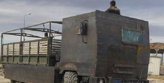 Middle Eastern Military Vehicles Are Built to Withstand Anything