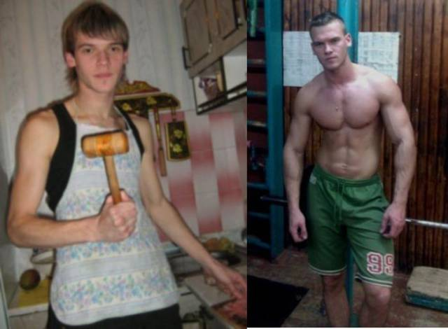 Skinny Guys Transform Their Bodies into Muscle Machines