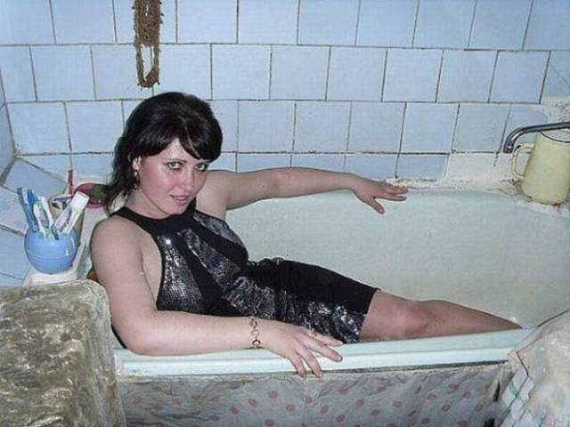 Glamour Shots Are Not Actually That Sexy in Russia