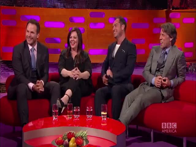 Chris Pratt gets NAKED on Parks and Rec - The Graham Norton Show