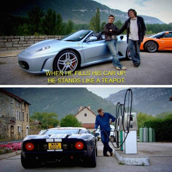 "A Trip Down Memory Lane with These Awesome Pics from ""Top Gear"""