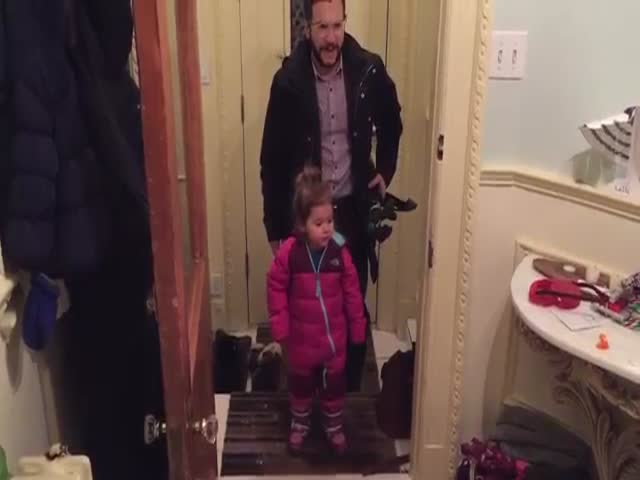 Clever Dad Develops the Niftiest Life Hack for Wet Winter Boots