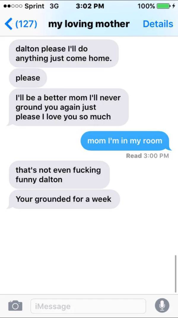 Son Pranks His Mother into Thinking That He Is Leaving Home and Her Reaction Is Priceless