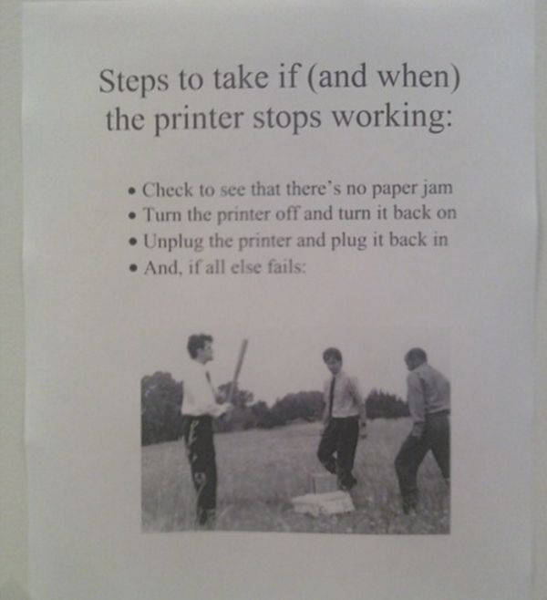 A Little Work Humor to Brighten Your Day