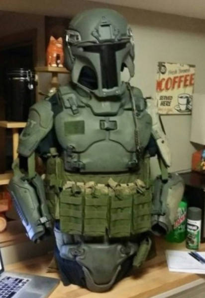 Realistic Mandalorian Body Armor Could Now be Yours to Own