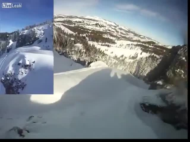 Man Gets Caught in an Avalanche at Sugar Bowl and Lives to Tell the Tale