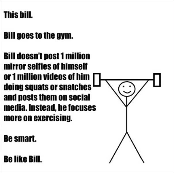 Bill Has a Few Important Life Lessons for Everyone Using Facebook Today