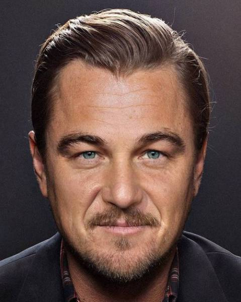 Photoshop Artist Creates Intriguing Mashups of Celebrity Faces