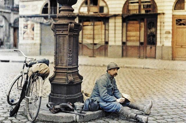 Historic Color Photographs Taken Post WWI