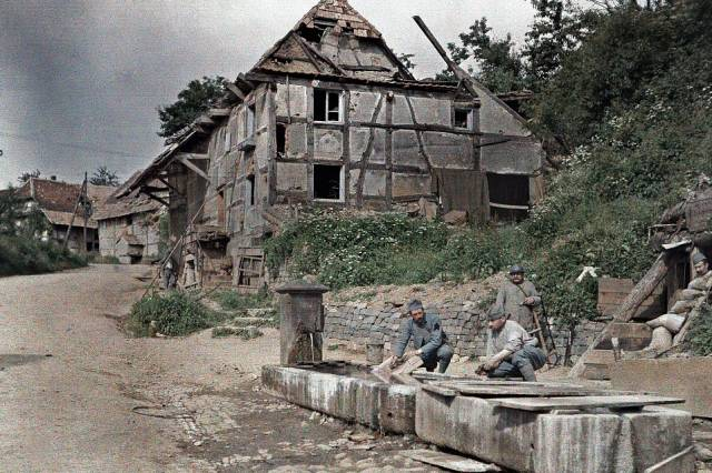 Historic Color Photographs Taken Post WWI