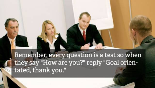 20 Hilarious Job Interview Hacks