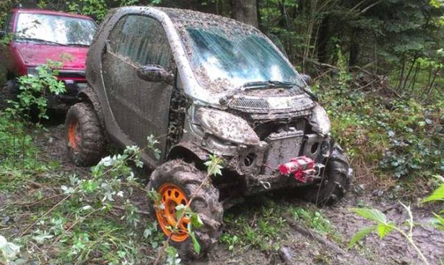 From Smart Car to an Off-Road Vehicle