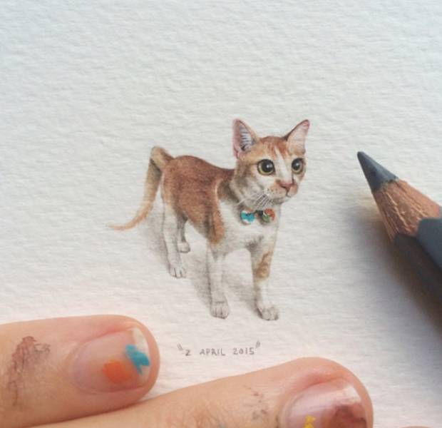 Impressive Tiny Drawings That You