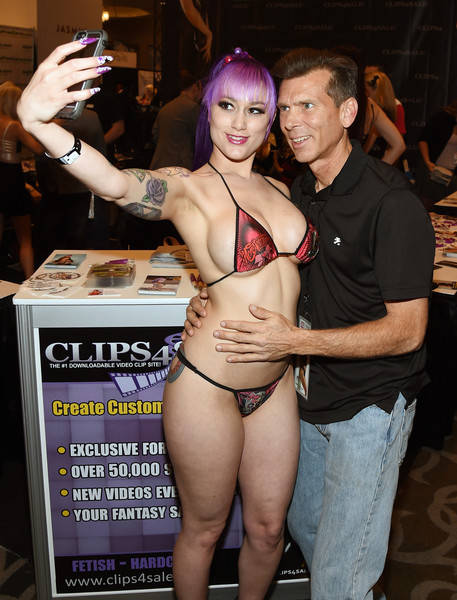 Erwachsene Aee AVN Entertainment Expo in Las Vegas