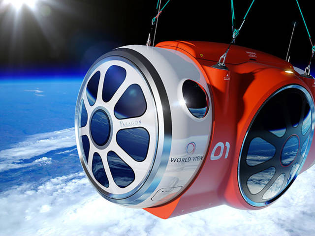 Would You Like To Fly To The Edge Of Space In A Capsule?
