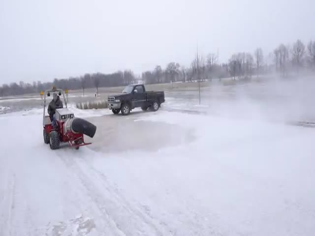 Cool Thing For A Quick Snow Removal