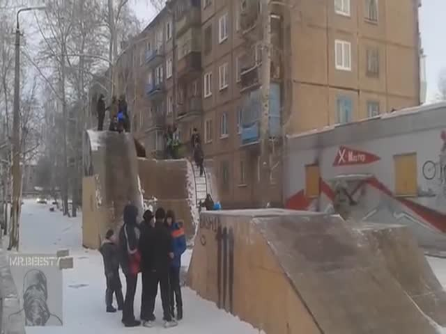 New Winter Entertainment of Russian Kids