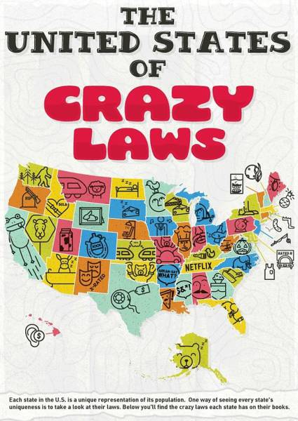 There Are Some US Laws That Are Plain Crazy but Do Exist