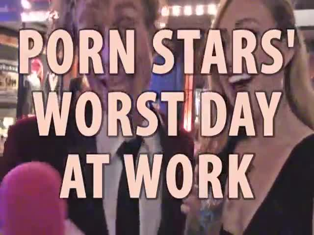 What It Is A Bad Day At Work For Porn Stars