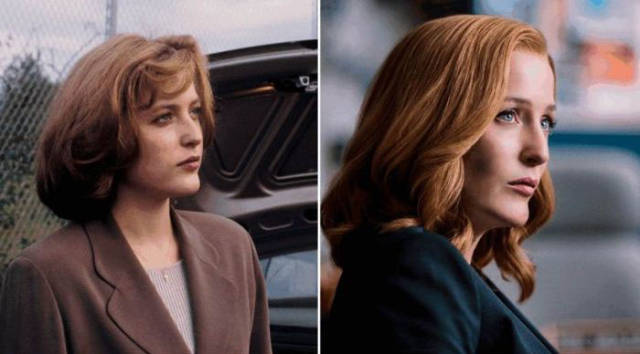 Cool Comparison Photos of the X-Files Cast Then and Now