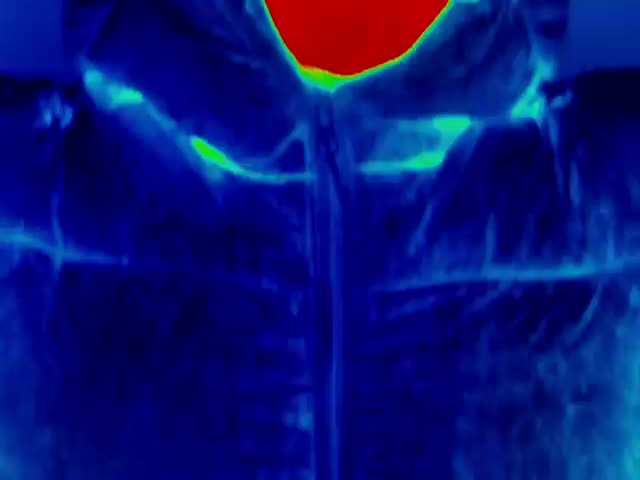 Thermal Imaging Camera Shows How Heat Is Lost from the Human Body in Freezing Conditions