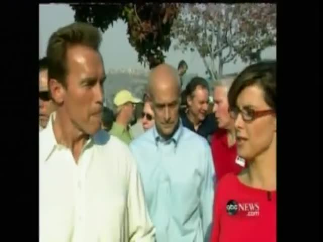Oldie of the Day: Governor Schwarzenegger Is Not Intimidated by This Reporter