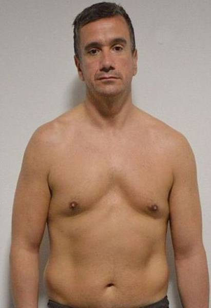 Middle-aged Man Turns His Flabby Body into a Muscle Machine in Only 10 Weeks