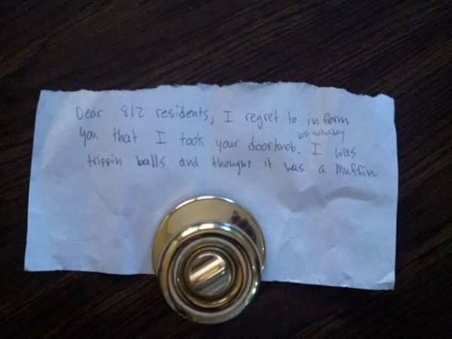 Amusing Notes That Strangers Have Written for One Another