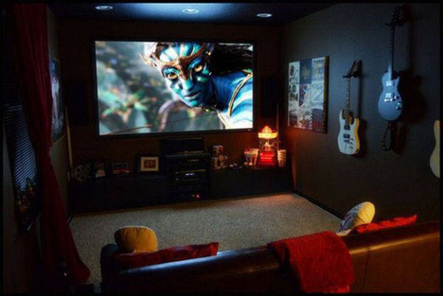 Home Theatres That Will Make You Green with Envy