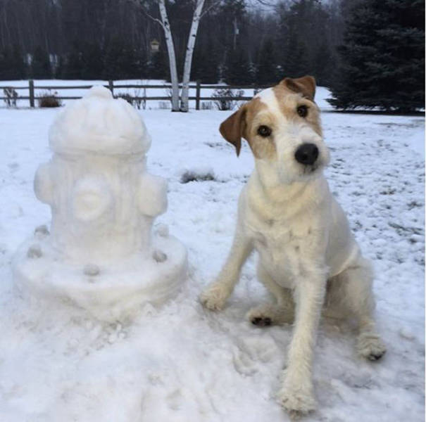 These Snow Sculptures Are Out of This World