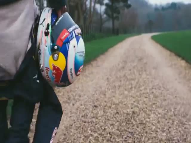Formula 1 Car vs Rugby Team