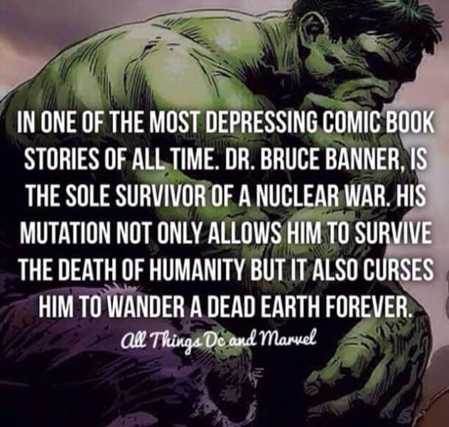 Facts about DC/Marvel Characters That All the Fans Will Enjoy