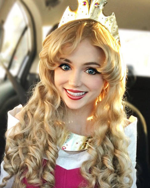 Girls Spends $14K for Princess Costumes
