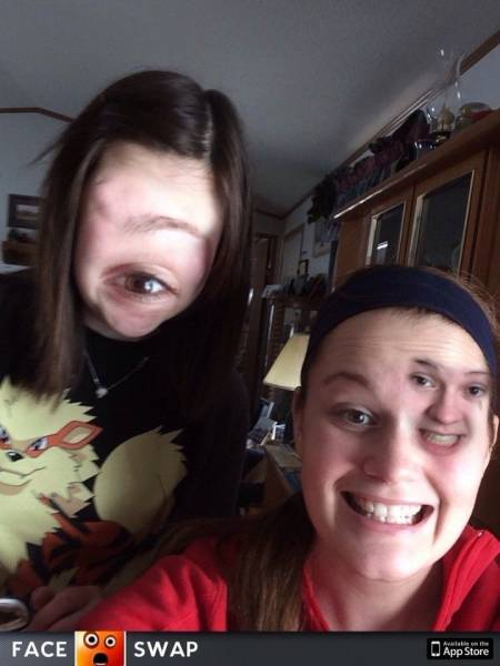 When Swapping Faces Goes Awfully Wrong