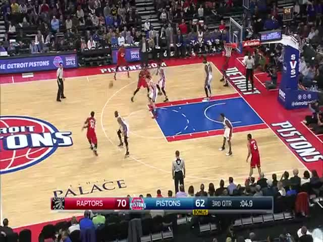 Incredible Buzz Beater by Andre Drummond is the longest field goal since 2007