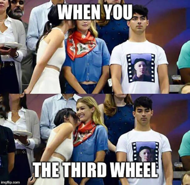 How Awkward It Is To Be The Third Wheel