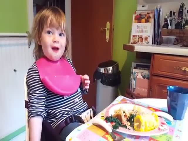 Daughter Finds Her Father's Joke Hilarious