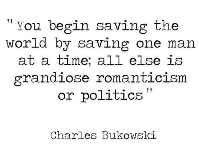 Charles Bukowski Was One Fine Wordsmith