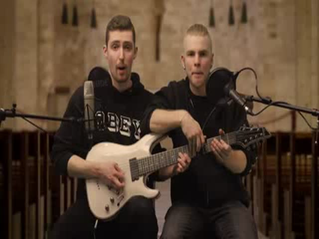 Insane Cover Of Eminem's 'Rap God' by 2 Guys On One Guitar