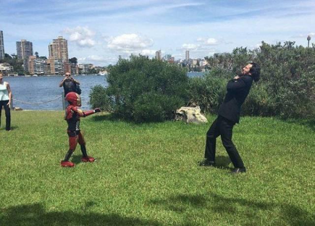 Boy Got To Live An Epic Day As Iron Man