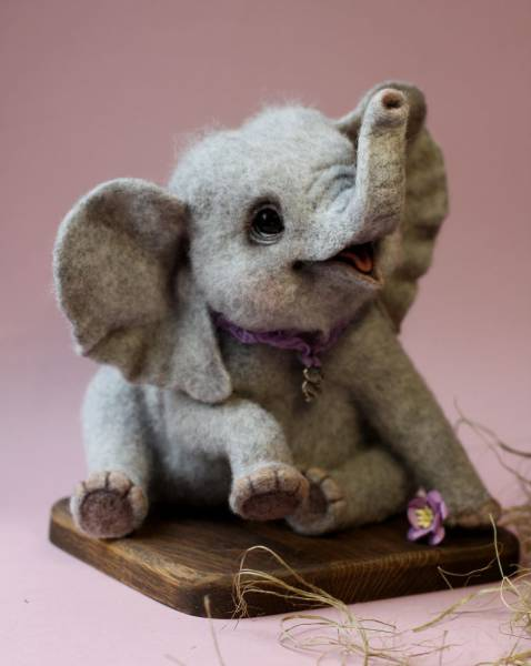Super Cute Little Toy Animals Made From Wool