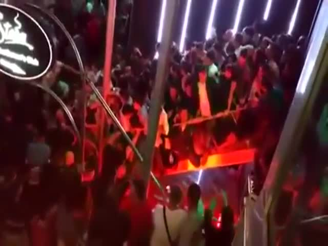Disaster At An Overcrowded Night Club
