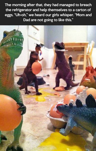 Parents Make Their Kids Believe That Their Toys Come To Life At Night
