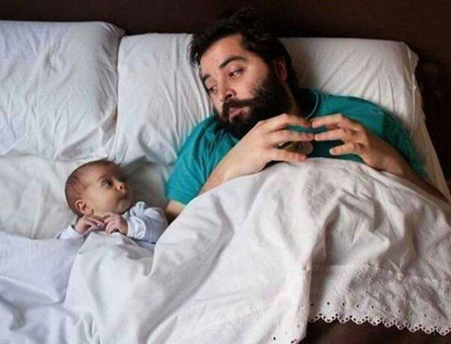 These Images Prove The Saying: Like Father, Like Son