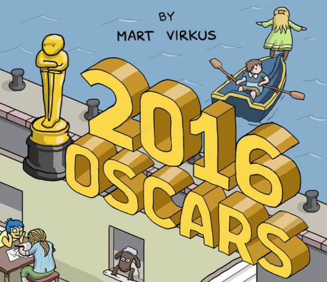 Oscar Nominated Movies In One Amazing Illustration