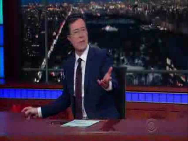 Stephen Colbert Destroys Kanye West With His Funny Comments