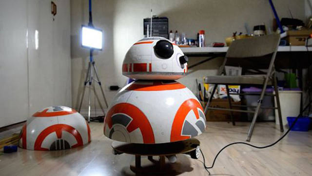 Filipino Teen Built A Real Size BB-8 Droid